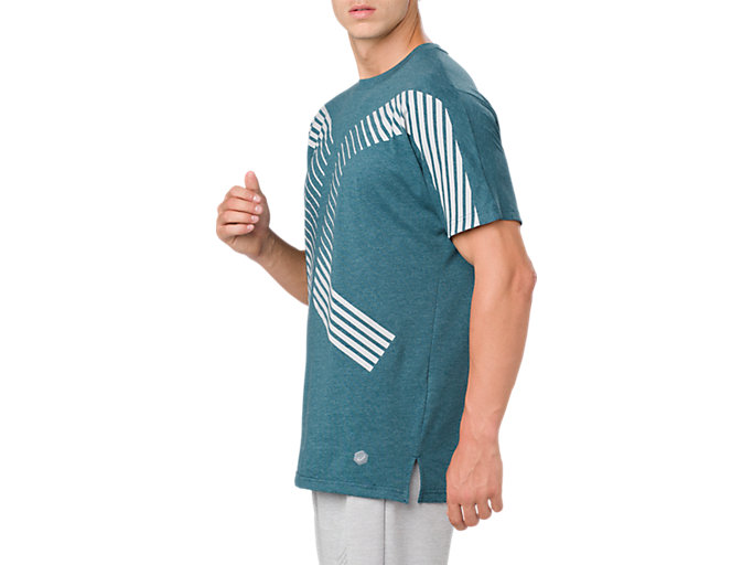 Alternative image view of POWER SS TOP, BLUE STEEL HEATHER