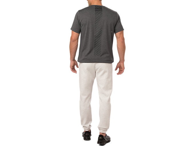 Alternative image view of SS TOP, PERFORMANCE BLACK HEATHER