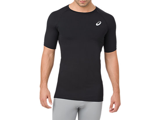 BASELAYER SS TOP, PERFORMANCE BLACK