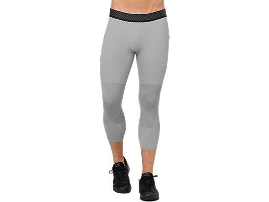 BASELAYER 3/4 TIGHT, STONE GREY