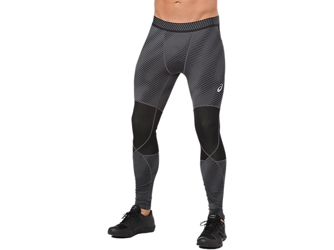 Front Top view of BASELAYER G TIGHT, PERFORMANCE BLACK