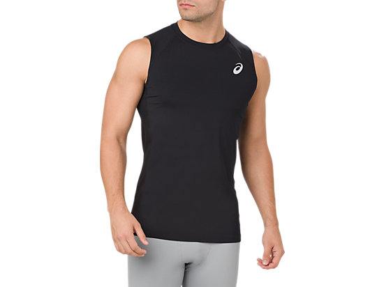 BASELAYER TANK TOP, Performance Black