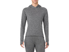 SWEAT PO HOODIE, PERFORMANCE BLACK HEATHER