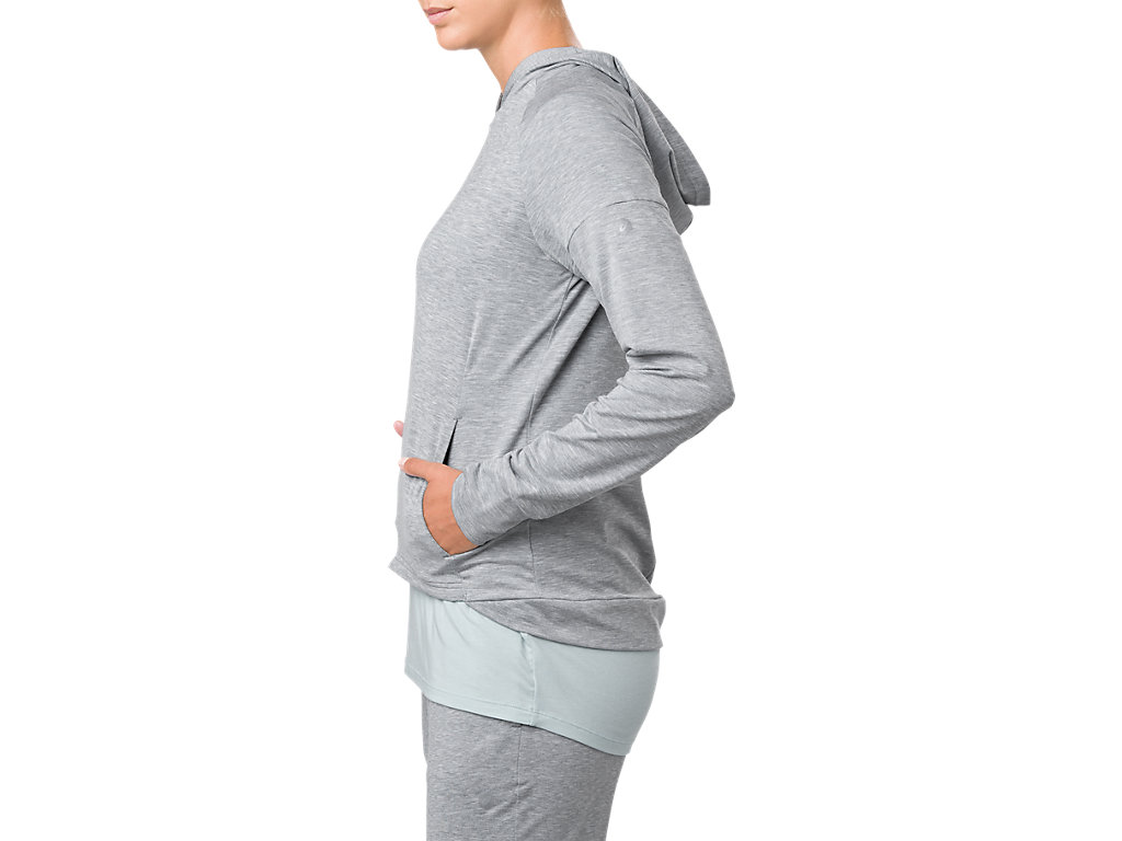 ASICS-Women-039-s-Dropshoulder-Hoodie-Training-Clothes-153385 thumbnail 34