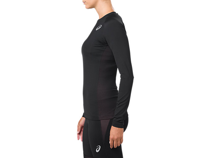 Alternative image view of BASELAYER LS TOP, PERFORMANCE BLACK