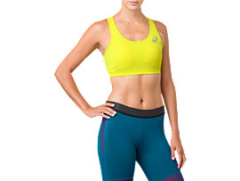 ASICS BASE LAYER MED SUPPORT BRA, SULPHUR SPRING