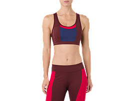 COLOR BLOCK BRA, PORT ROYAL