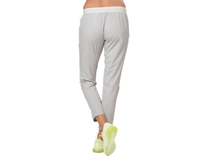 Back view of STRETCH WOVEN PANT, GLACIER GREY