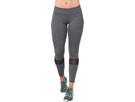 MELANGE 7/8 TIGHT, PERFORMANCE BLACK HEATHER