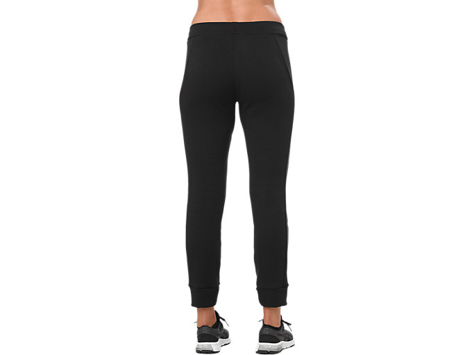 Back view of SWEAT PANT, PERFORMANCE BLACK