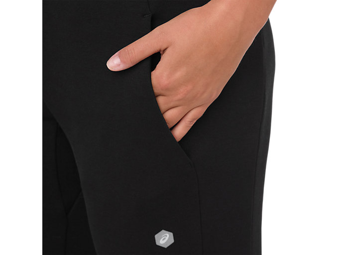 Alternative image view of SWEAT PANT, PERFORMANCE BLACK