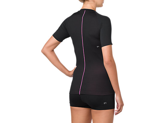 ASICS BASE LAYER SS TOP PERFORMANCE BLACK