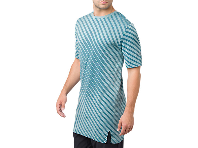 Alternative image view of SEAMLESS SS TOP, PORCELAIN BLUE