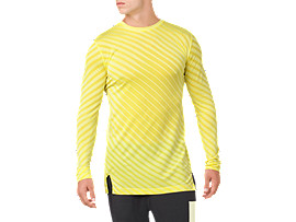 SEAMLESS LS TOP, LIMELIGHT