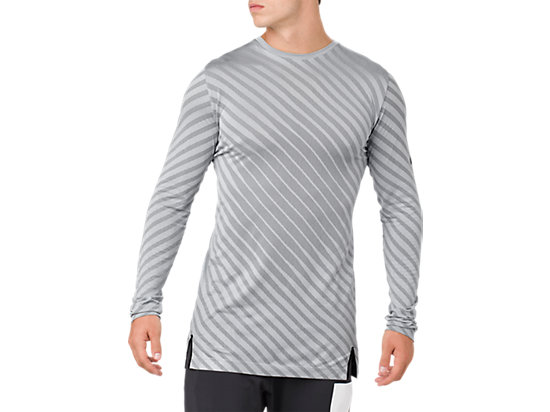 SEAMLESS LS TOP, Stone Grey