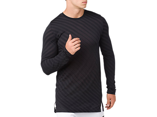 SEAMLESS LS TOP PERFORMANCE BLACK