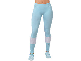 SEAMLESS TIGHT, PORCELAIN BLUE HEATHER