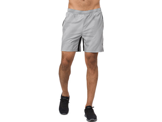 GRAPHIC SHORT 6IN, STONE GREY