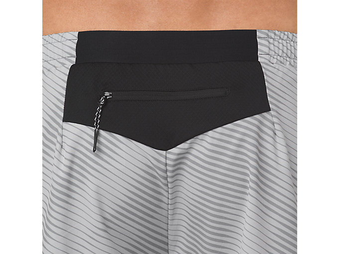 Alternative image view of GRAPHIC SHORT 6IN, STONE GREY