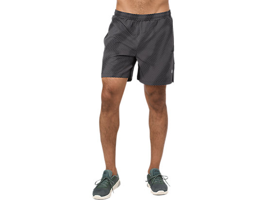 GRAPHIC SHORT 6IN, PERFORMANCE BLACK