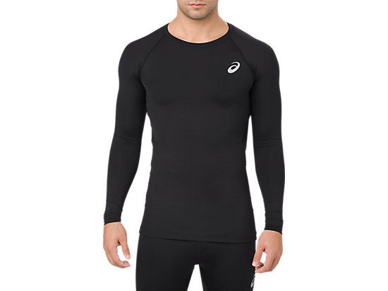 BL RECOVERY LS TOP, Performance Black