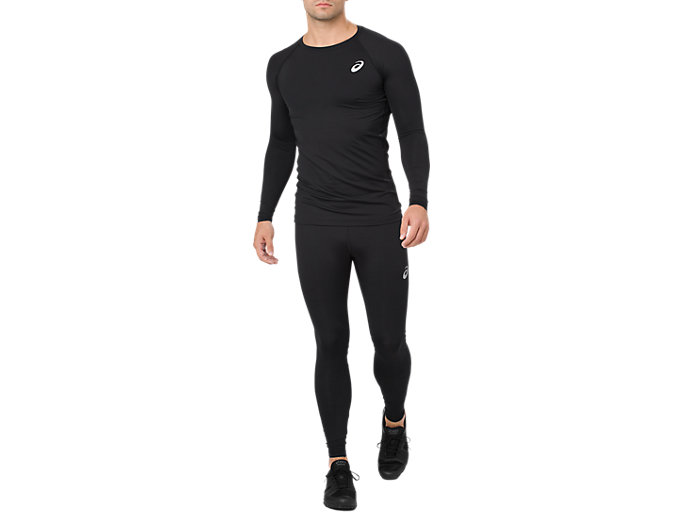 Alternative image view of BL RECOVERY LS TOP, PERFORMANCE BLACK