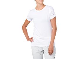 여성 트레이닝 크루넥 반팔 티셔츠