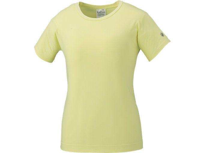 CREW NECK SS TOP, LIMELIGHT