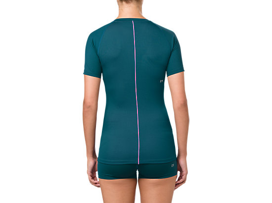 ASICS BASE LAYER SS TOP BLUE STEEL