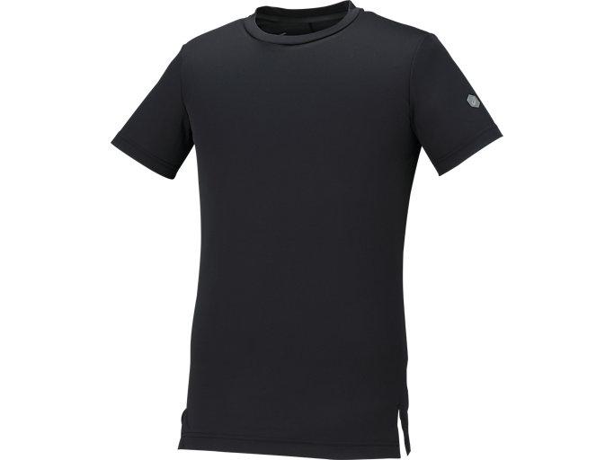 トレーニングGEL-COOLショートスリーブトップ, Pブラック