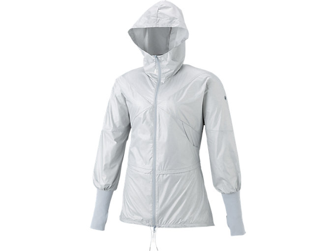 W'Sトレーニングロングジャケット, シルバーグレーモク