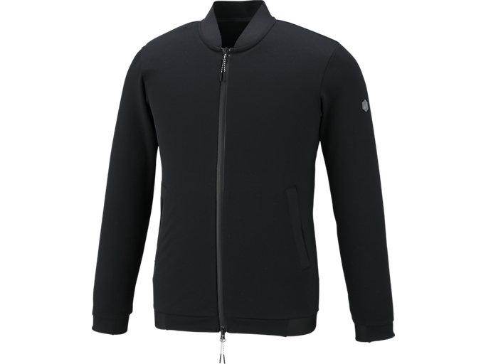 トレーニングニットボンバージャケット, Pブラック