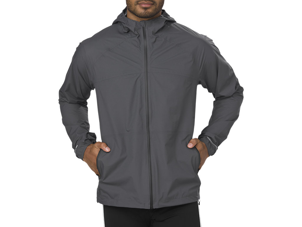 asics running jacket mens