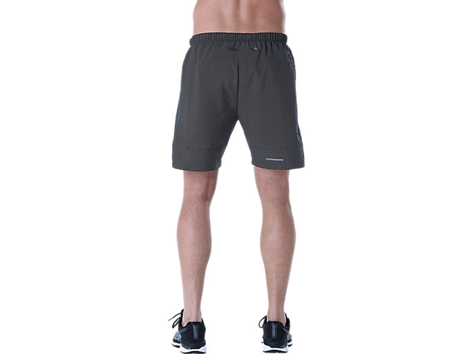 "Alternative image view of Pantalón corto de running 7"" para hombre, PERFORMANCE BLACK/DARK GREY"