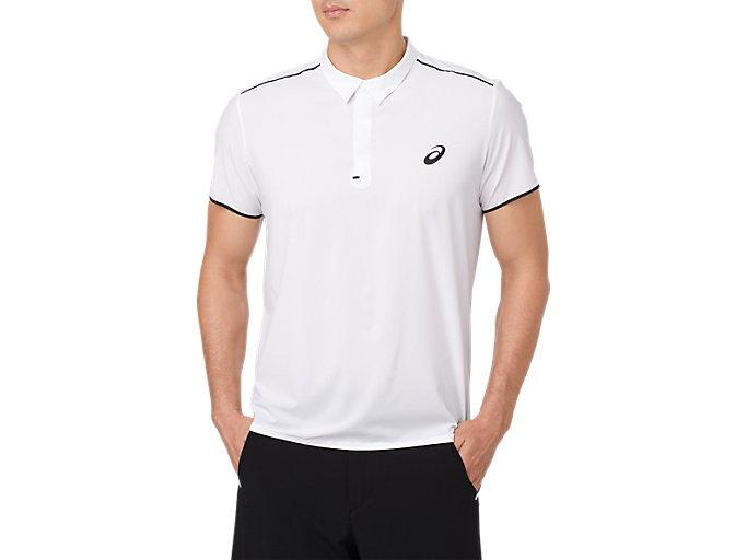 2ea48ea8b GEL-COOL PRFM POLO | Men | BRILLIANT WHITE | Men's Short Sleeve ...