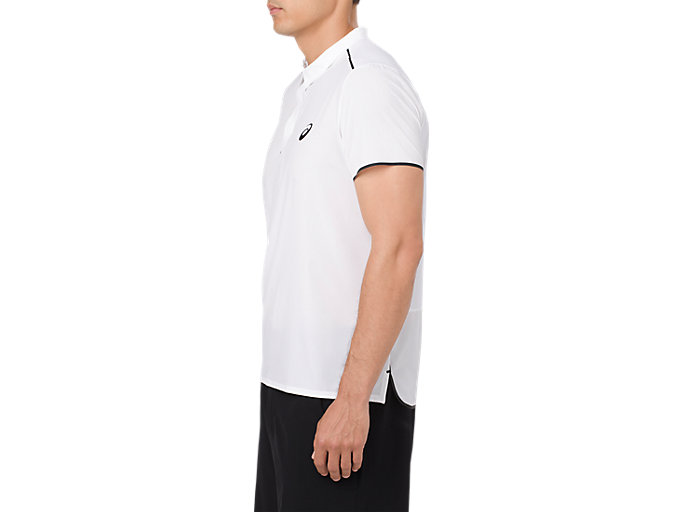 Alternative image view of GEL-COOL PRFM POLO, BRILLIANT WHITE