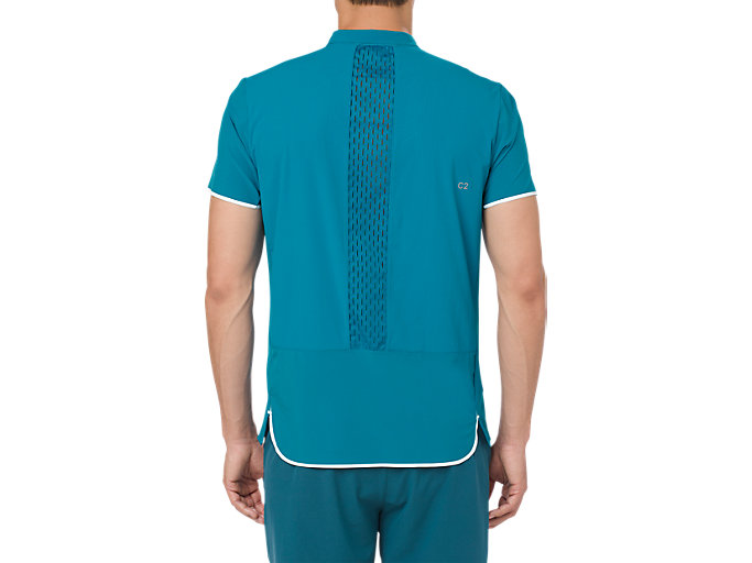 Back view of GEL-COOL PRFM POLO, TURKISH TILE