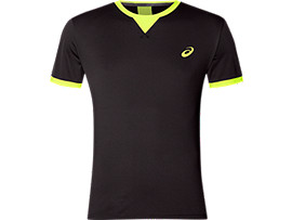 SS TOP, PERFORMANCE BLACK/SAFETY YELLOW