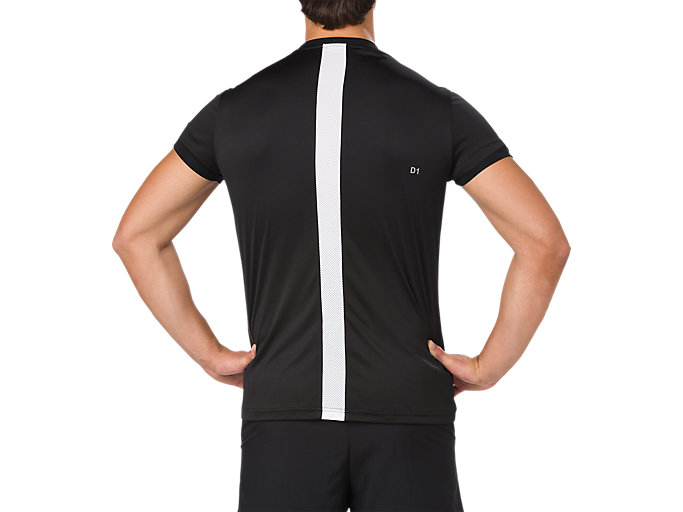 Back view of SS TOP, PERFORMANCE BLACK