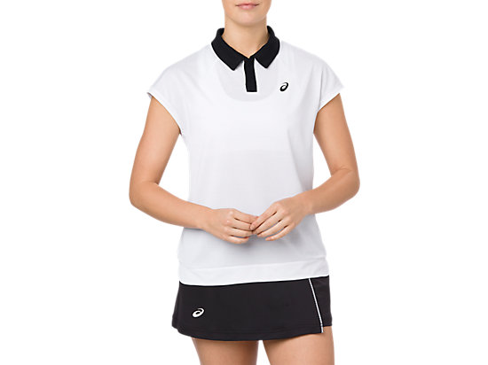 CLASSIC POLO TOP, BRILLIANT WHITE