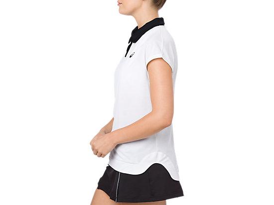 女POLO衫 BRILLIANT WHITE