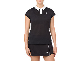 CLASSIC POLO, PERFORMANCE BLACK