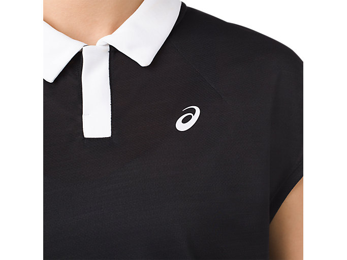 Alternative image view of CLASSIC POLO TOP, PERFORMANCE BLACK