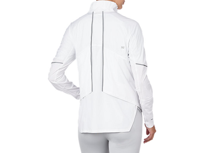 Back view of BEST JACKET, BRILLIANT WHITE