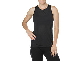 COOL TANKTOP, PERFORMANCE BLACK