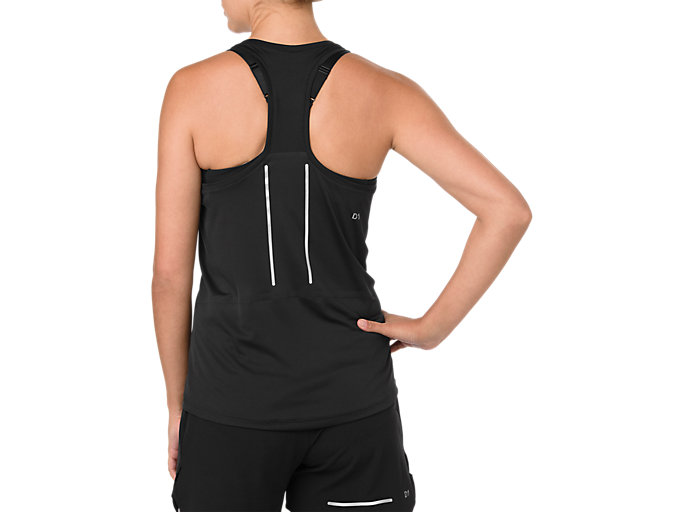 Back view of LITE-SHOW TANK, SP PERFORMANCE BLACK