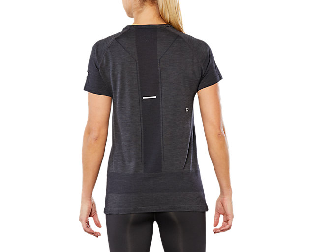 Back view of GEL-COOL SS TOP, PERFORMANCE BLACK