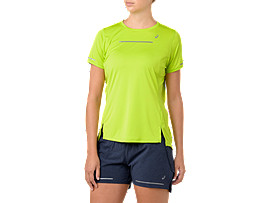 LITE-SHOW SS TOP, NEON LIME