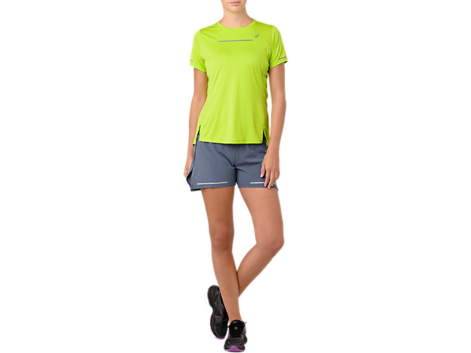Alternative image view of LITE-SHOW SS TOP, NEON LIME