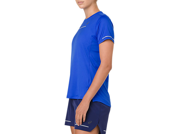 Side view of LITE-SHOW SS TOP, ILLUSION BLUE